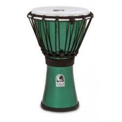 TOCA TFCDJ-7MG Freestyle Colorsound Djembe X-Small Metallic Green