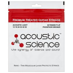 ACOUSTIC SCIENCE PHOSPHOR BRONZE 12-52