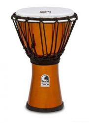 TOCA TFCDJ-7MO Freestyle Colorsound Djembe X-Small Metallic Orange