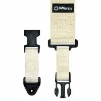 DIMARZIO COTTON CLIPLOCK STRAP 2 INCH NATURAL DD2200CN