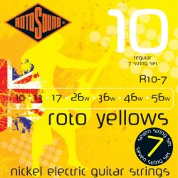 ROTOSOUND R10-7 STRINGS NICKEL REGULAR