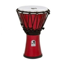 TOCA TFCDJ-7PR Freestyle Colorsound Djembe X-Small Pastel Red