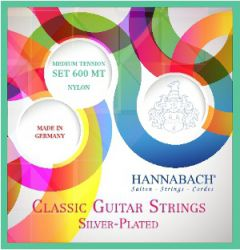 600MT Silver-Plated Green  Hannabach