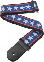 PLANET WAVES 50A10 WOVEN STRAP STARS & STRIPES