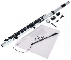 NUVO Student Flute - Silver/Black