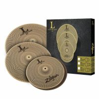 "Zildjian LV468 L80 Low Volume 14"" HiHat/16"" Crash/18"" Crash Ride Box Set"