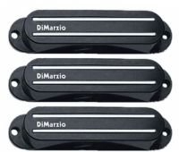 DiMarzio Fast Track Pickup Cover Set DM2002BK
