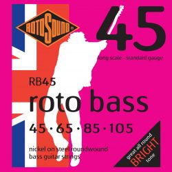 ROTOSOUND RB45 NICKEL (UNSILKED)