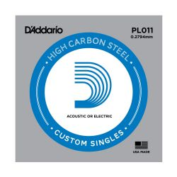 D'ADDARIO PL011 Brass-Plated Steel