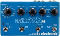 TC Electronic FLASHBACK X4 DELAY & LOOPER TonePrint