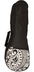KALA UB-CR-C KALA CONCERT PADDED UKULELE BAG, CREAM PATTERN