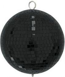 EUROLITE Mirror Ball 20cm black mate