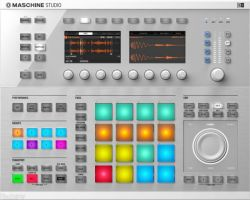 USB/MIDI-контроллер NATIVE INSTRUMENTS Maschine Studio Wht