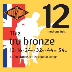 ROTOSOUND TB12 STRINGS 80/20 BRONZE