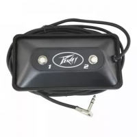 Peavey Multi-Purpose 2 Btn Footswitch w/LEDs