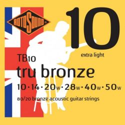 ROTOSOUND TB10 STRINGS 80/20 BRONZE