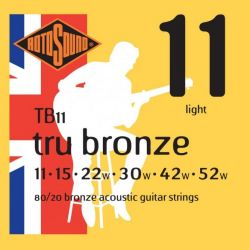 ROTOSOUND TB11 STRINGS 80/20 BRONZE