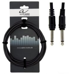 ALPHA AUDIO Basic Line Patch Cable 0,1 m