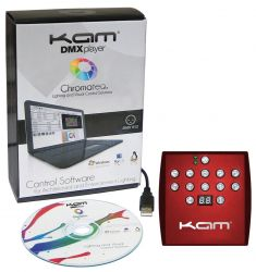 KAM Standalone DMX Player USB DMX