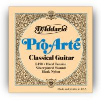 D`ADDARIO EJ50 PRO-ARTE BLACK NYLON HARD TENSION