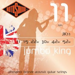 ROTOSOUND JK11 STRINGS PHOSPHOR BRONZE