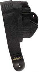 JACKSON 2' Poly Guitar Strap, Black